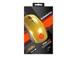 Steelseries Rival 100 Mouse, Alchemy Gold, 62336, 30761257, Mice & Cursor Control Devices