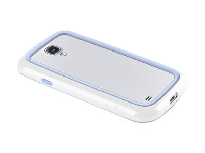 Belkin Surround Case for Samsung Galaxy S4, Whiteout Pale Blue, F8M557BTC01, 15960952, Carrying Cases - Phones/PDAs