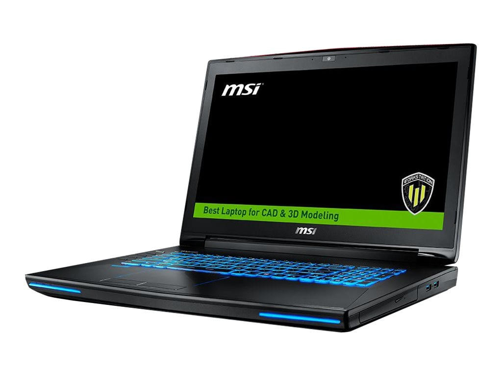 MSI WT72 6QM-423US with Quadro M5000M 3D