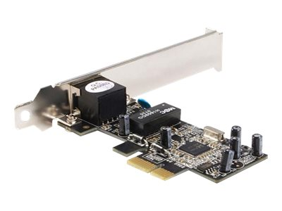 StarTech.com 1 Port PCI Express 10 100 Ethernet Network Interface Adapter Card