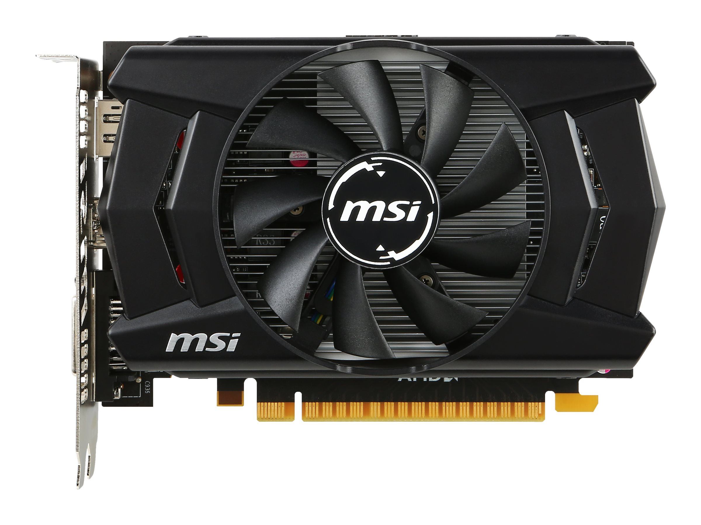 Microstar Radeon R7 360 PCIe Overclocked Graphics Card, 2GB GDDR5, R7 360 2GD5 OC, 23203257, Graphics/Video Accelerators