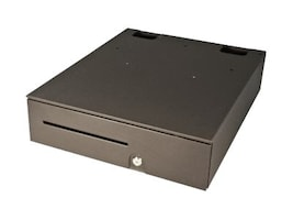 APG Series 100 Cash Drawer Dual Media Slots 16x19.5 24V Multiport Interface Black, T320-BL16195, 5657861, Cash Drawers