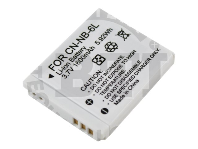 BTI Battery for Canon Digital Camera, BTI-CNNB6L
