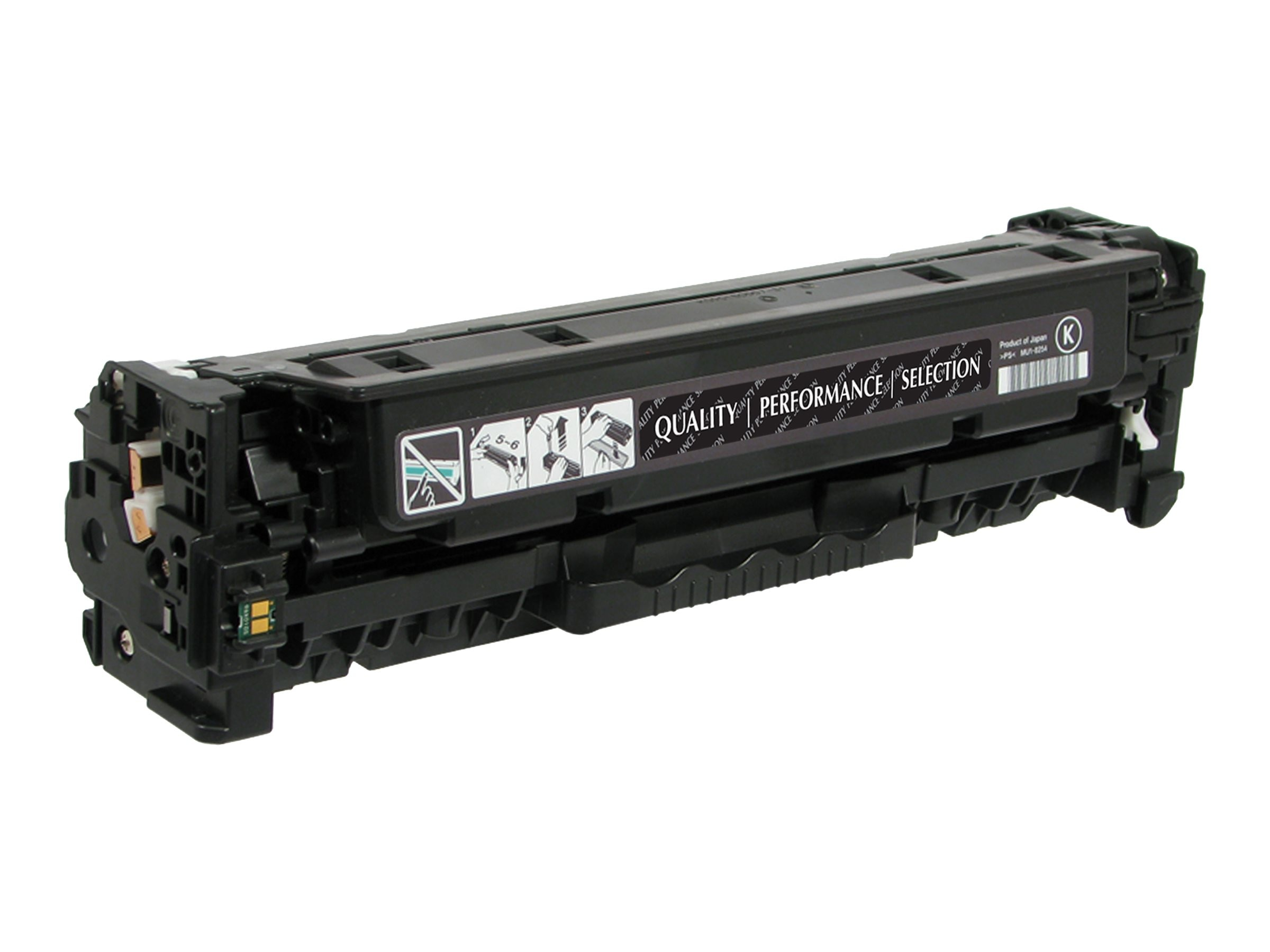 V7 CE410X Black High Yield Toner Cartridge for HP LaserJet Pro Color M375 M451