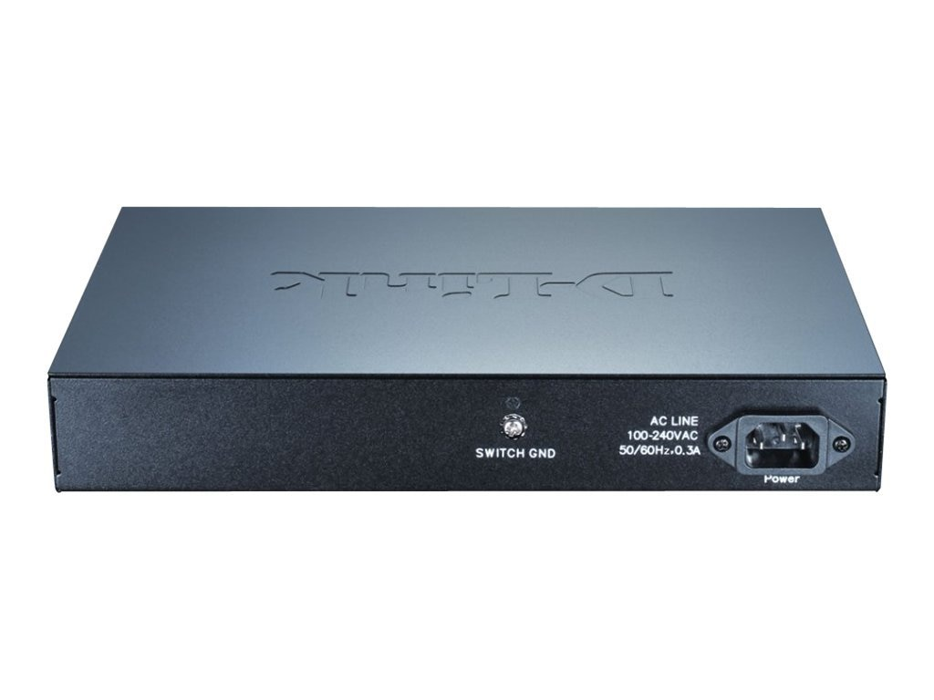 D-Link 16-port Gigabit Easy Smart Switch, DGS-1100-16