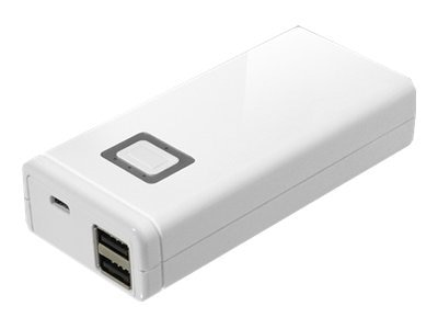 Aluratek Dual USB 8000mAh Portable Charger w  Built-In Battery 2.1A, APB02F, 31175049, Batteries - Other
