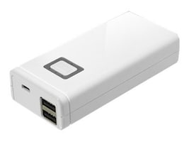 Aluratek Universal Dual USB Portable Battery Charger, 8000mAh, APB02F, 13507396, Battery Chargers