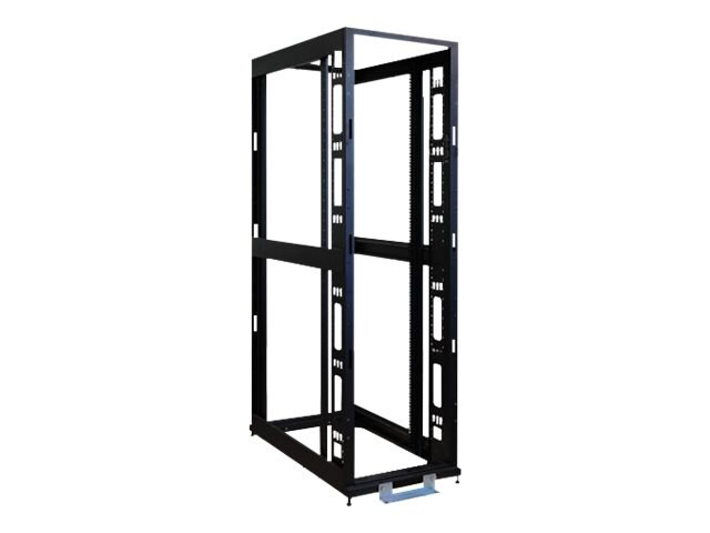 Tripp Lite 42U Mid-Depth 4-Post SmartRack Premium Open Frame Rack w o Sides, Doors or Roof, SR42BMDEXPNDNR3, 15389055, Racks & Cabinets