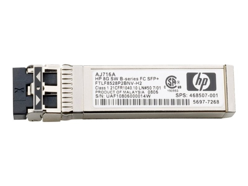 HPE MSA 2040 16Gb Short Wave Fibre Channel SFP+ Transceiver, 4-Pack, C8R24A, 16460474, Network Transceivers
