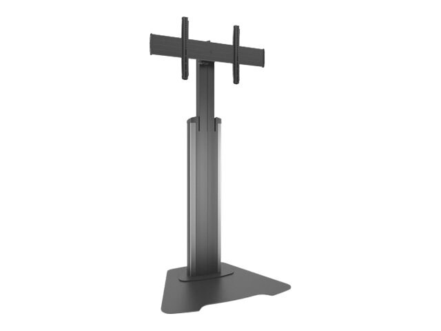 Chief Manufacturing Large Fusion Manual Height Adjustable Floor AV Stand, LFAUS, 18111761, Stands & Mounts - AV