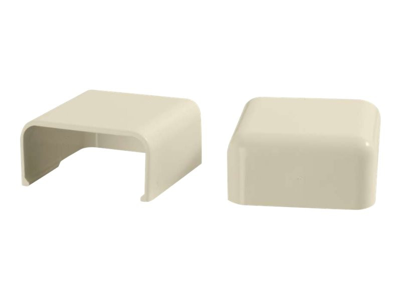 C2G Wiremold Uniduct 2900 Blank End Fitting, Ivory, 2-Pack