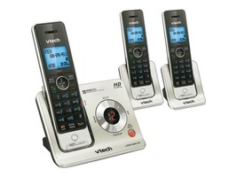 Vtech 3-Handset Cordless Answering System with Caller ID Call Waiting, LS6425-3, 12556049, Telephones - Consumer