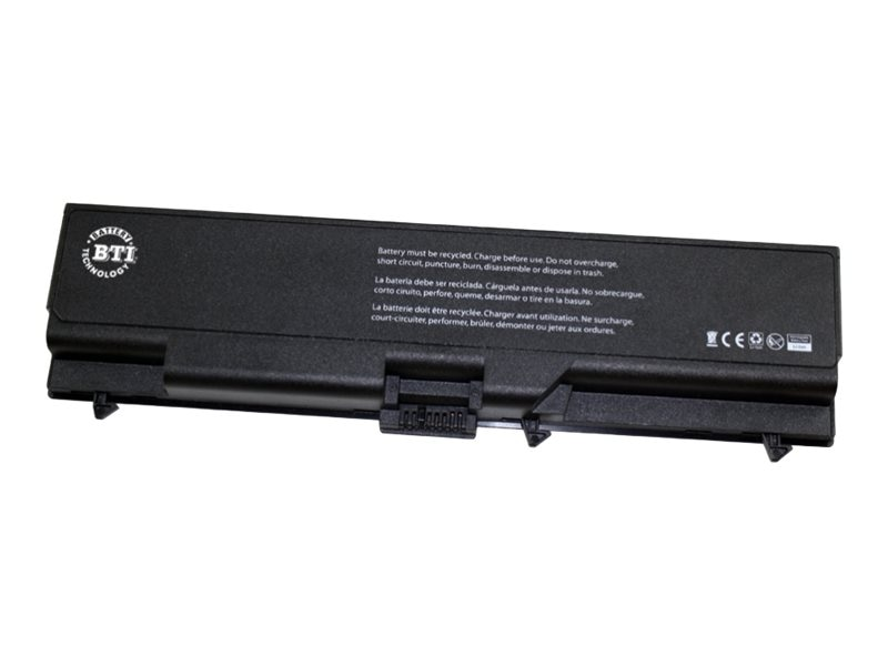 BTI Replacement Lithium-Ion Battery, 6-cell for Lenovo IBM Thinkpad, LN-T430X6, 17894282, Batteries - Notebook