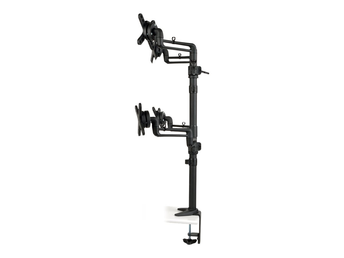 Tripp Lite Quad Full-Motion Flex Arm Desk Clamp for 13 to 27 Displays, Monitors, DDR1327SQFC