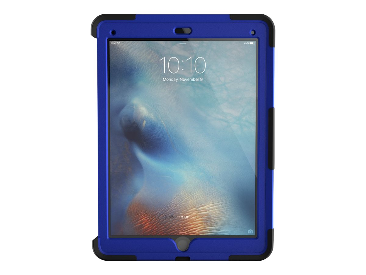 Griffin Survivor Slim for iPad Pro, Black Blue, GB40364, 30655163, Carrying Cases - Tablets & eReaders