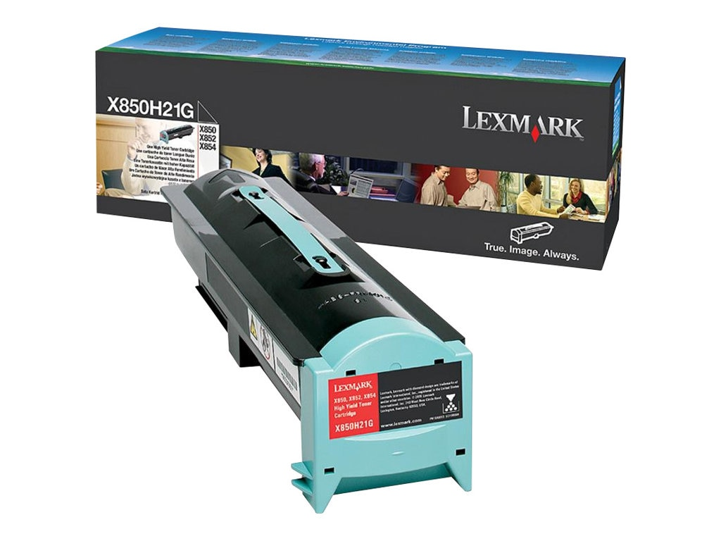 Lexmark Black Toner Cartridge for X850e, X852e & X854e Multifunction Printers, X850H21G
