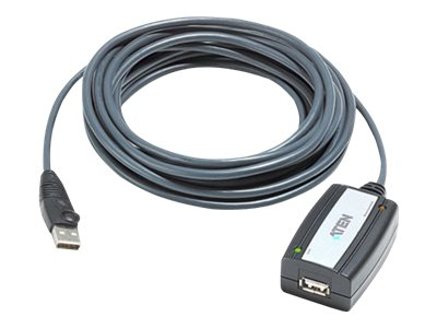 Aten USB 2.0 Extender Cable Type A Male to Female, 16ft