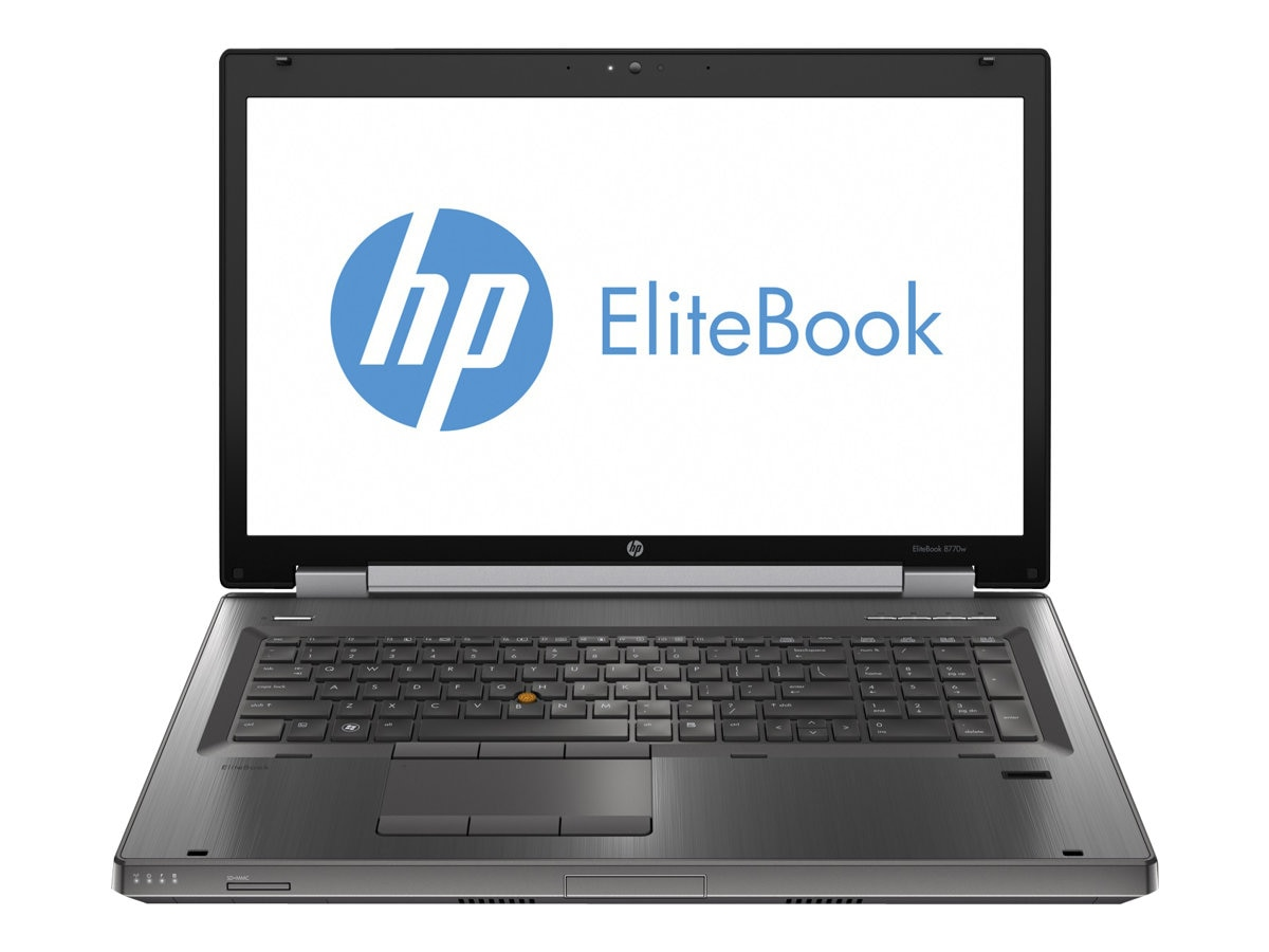 HP EliteBook 8760w Core i7 2.3GHz 4GB 256GB SSD BD-DVD WC 17.3 W7P64