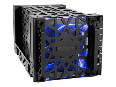 Icy Dock 4 Bay 3.5 SATA Hard Drive Enclosure, MB174U3S-4SB, 19461472, Hard Drive Enclosures - Multiple