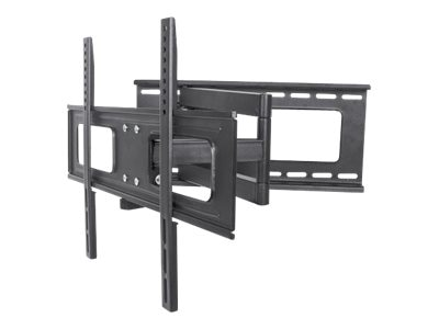 Manhattan Universal Flat-Panel TV Full Motion Wall Mount, Black, 424691, 19964416, Stands & Mounts - AV