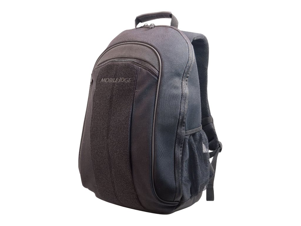 Mobile Edge 17.3 Eco Friendly Canvas Backpack, Black, MECBP1, 11663192, Carrying Cases - Notebook