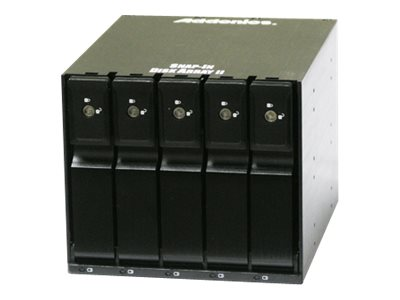 Addonics 5-Drive Snap-In Disk Array Enclosure, AESN5DA35-A, 31450944, Hard Drive Enclosures - Multiple
