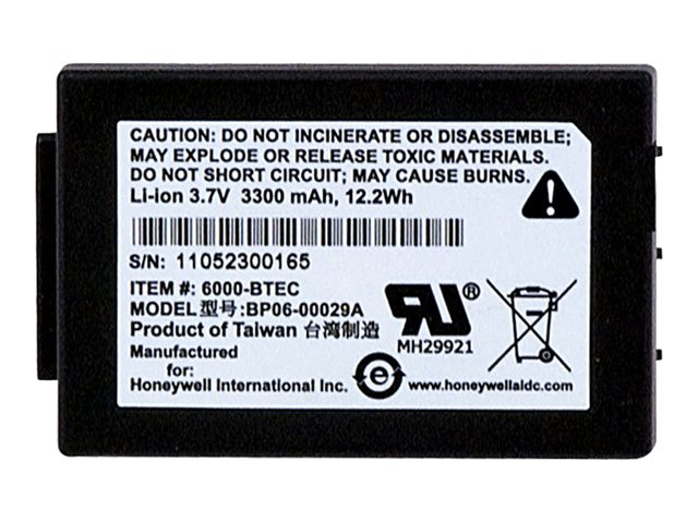 Honeywell Standard Battery Kit, 6100-BTSC, 13817888, Batteries - Other