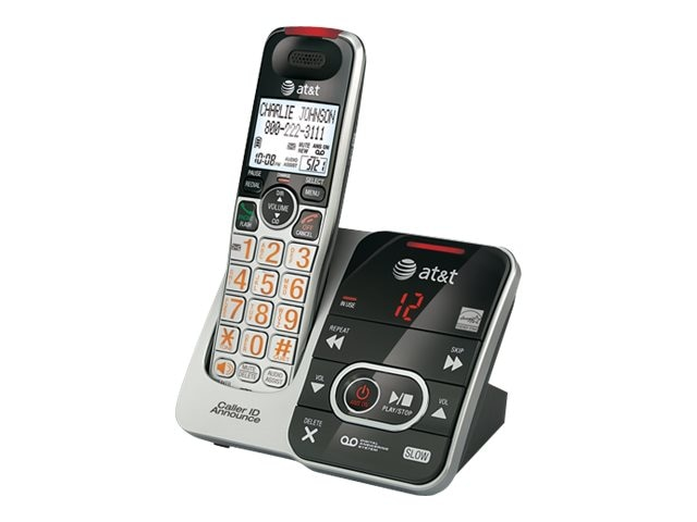 AT&T CRL32102 Cordless Phone with ITAD & Announcing Caller ID