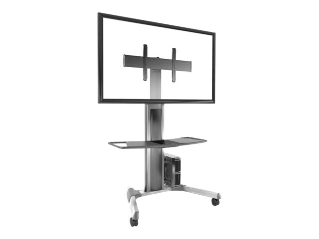 Chief Manufacturing Large Fusion Manual Height Adjustable Mobile Cart, LPAUS, 15558832, Stands & Mounts - AV