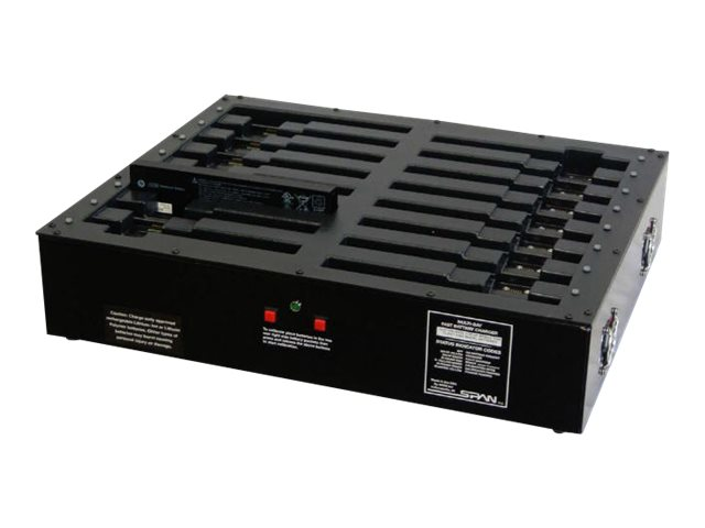 Datamation Multi-Bay Battery Charger Cart