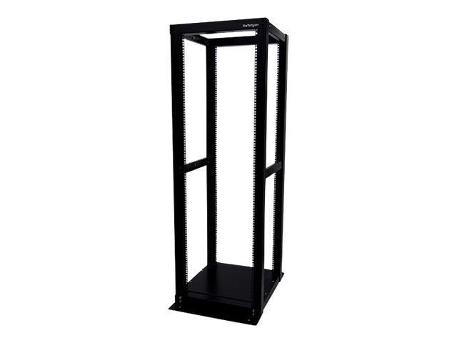 StarTech.com 36U Adjustable 4 Post Server Equipment Open Frame Rack Cabinet, 4POSTRACK36, 10640327, Racks & Cabinets