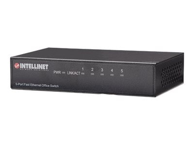 Intellinet 5-Port Fast Ethernet Office Switch