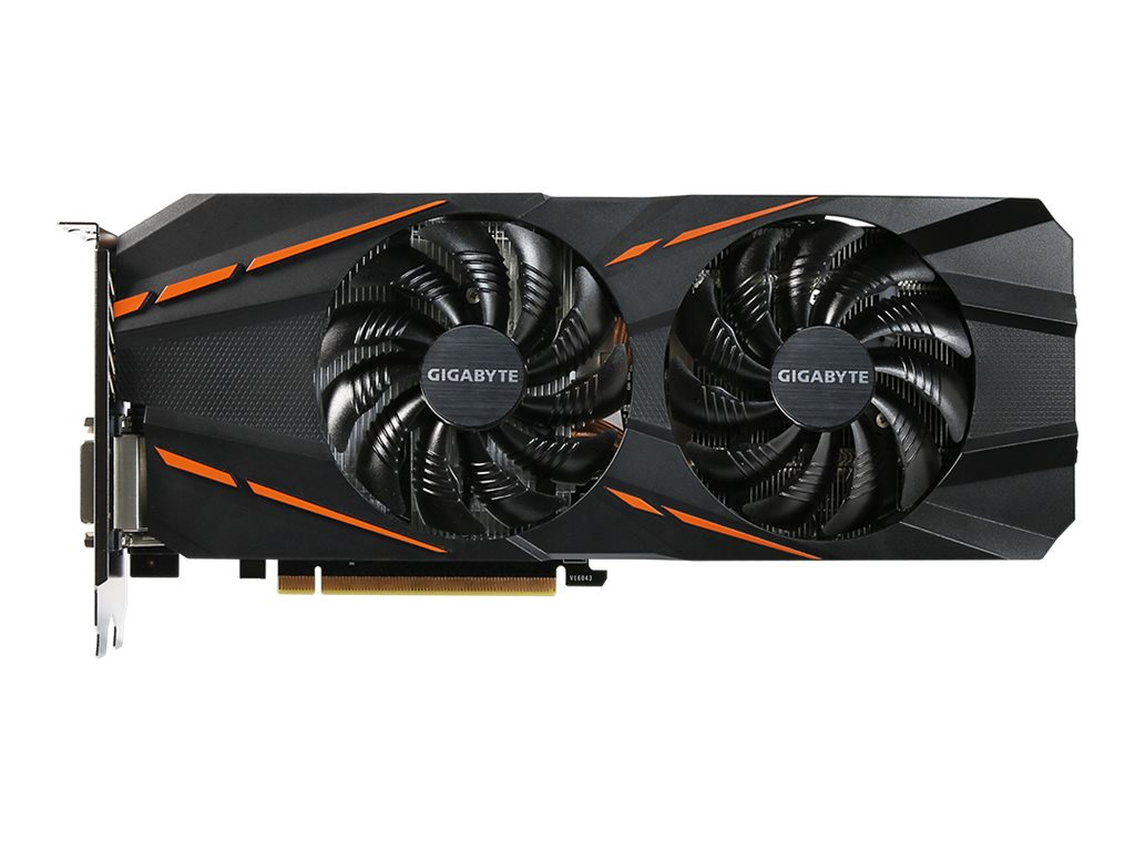 Gigabyte Tech Geforce GTX 1060 PCIe Graphics Card, 8GB GDDR5, GV-N1060G1 GAMING-6GD