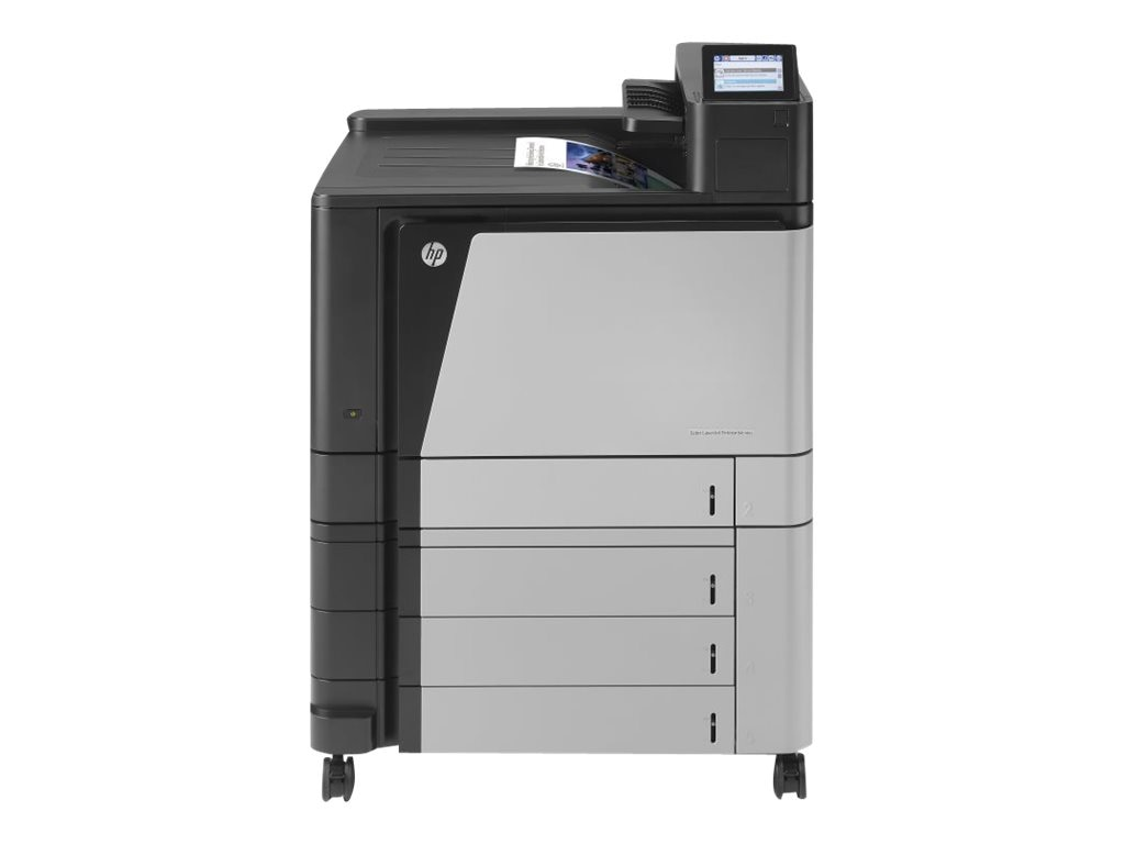 HP Color LaserJet Enterprise M855xh Printer - 220V, A2W78A#AAZ