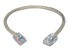 QVS CAT5e 350MHz Flexible Patch Cord, Gray, 1.5ft, CC712E-1.5, 31034414, Cables