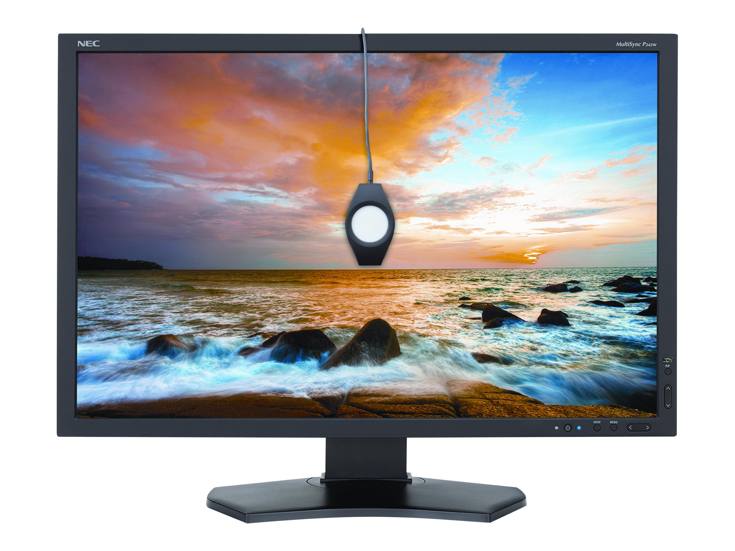 NEC 24.1 PA242W-BK LED-LCD Monitor with SpectraViewII