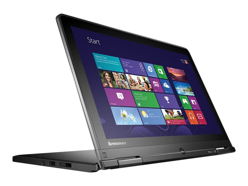 Lenovo ThinkPad Yoga 12 Core i5-5300U 2.3GHz 8GB 128GB SSD ac BT WC 8C 12.5 HD MT W8.1P64, 20DK003FUS