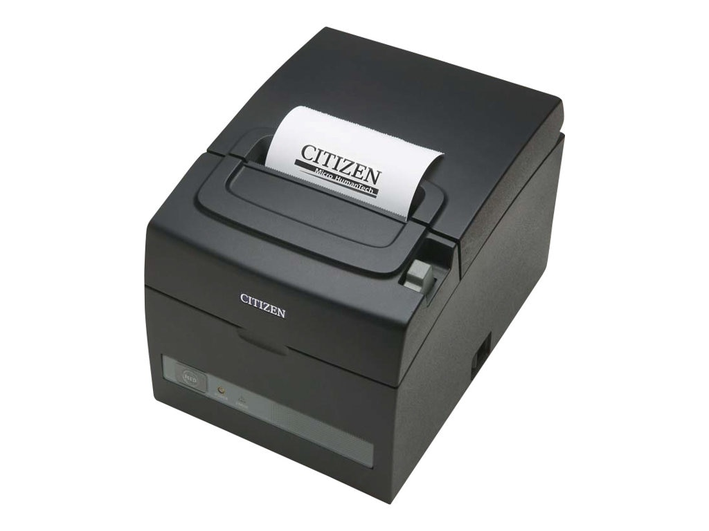 Citizen CBM CTS310II Thermal 160mm sec USB & 9-pin Serial I F Printer - Black, CT-S310II-U-BK