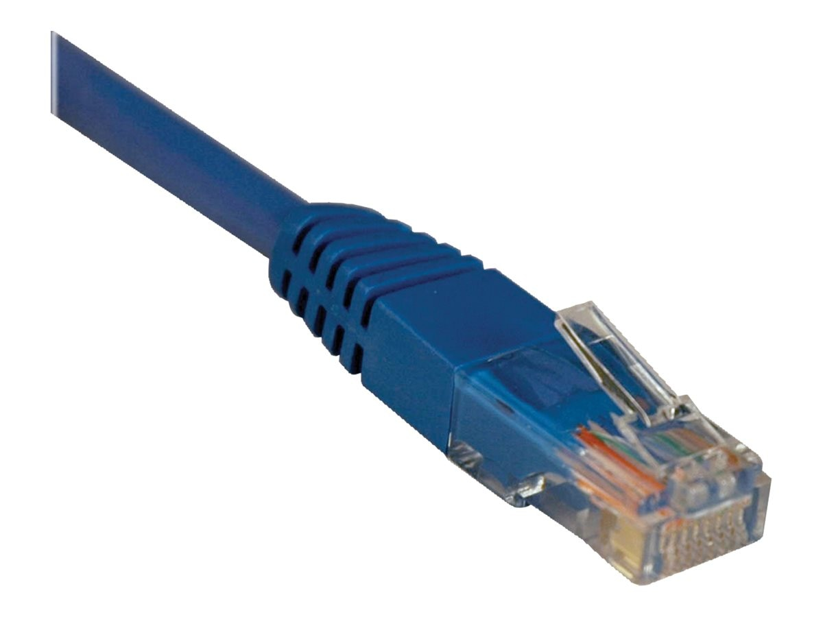 Tripp Lite Cat5e RJ-45 M M 350MHz Molded Patch Cable, Blue, 100ft, Instant Rebate - Save $2, N002-100-BL, 8509688, Cables