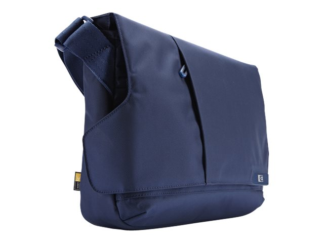 Case Logic 11 Laptop and iPad Messenger Bag, Ink, MLM-111INK, 14879247, Carrying Cases - Notebook