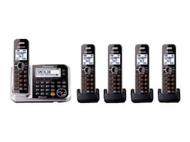 Panasonic Link2Cell BT Cordless Phone w  Answering Machine & (5) Handsets, KX-TG7875S, 17729463, Telephones - Consumer