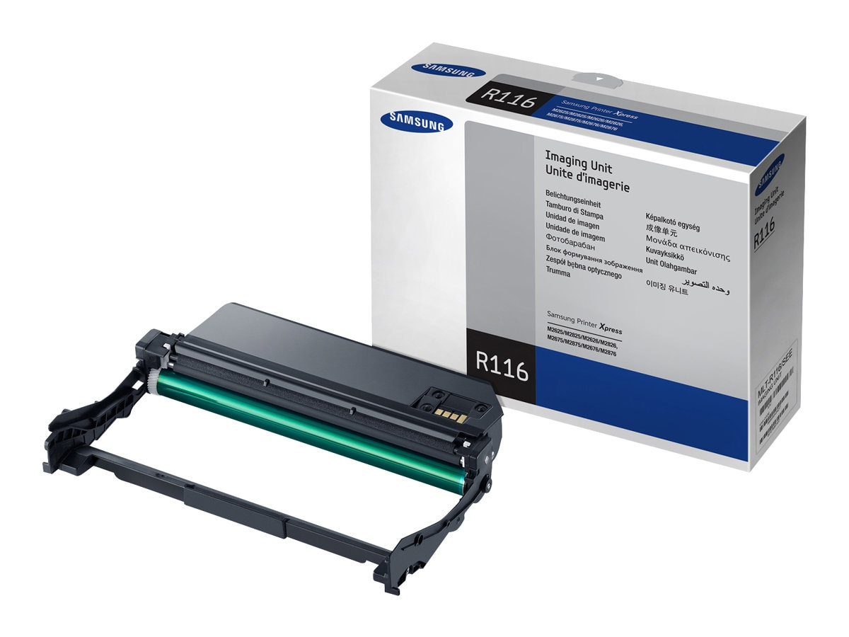 Samsung Imaging Unit for Xpress SL-M2625, SL-2626, SL-2825, SL-2826, SL-M2675, SL-2676, SL-2875, SL-2875, MLT-R116, 15597102, Toner and Imaging Components