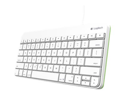 Logitech Wired Keyboard for iPad w  30-pin Connector, 920-006340, 17078015, Keyboards & Keypads