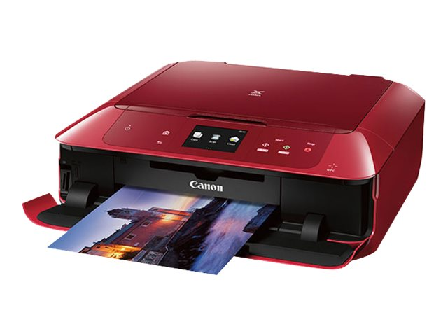 Canon PIXMA MG7720 All-In-One Printer - Red, 0596C042, 30568051, MultiFunction - Ink-Jet