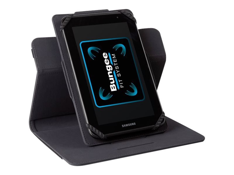 Targus Universal Quick Fit Case 7-8, Black 8, THZ456US, 16961367, Carrying Cases - Tablets & eReaders