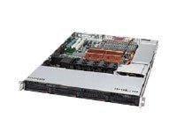Supermicro Barebones, SuperServer 6016T-MTHF, 1U, Intel Quad Core Support, SYS-6016T-MTHF, 11150101, Barebones Systems