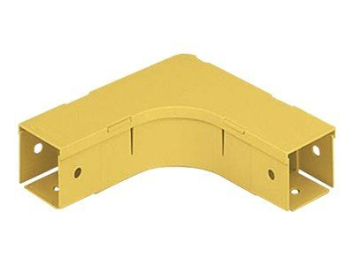 Panduit Fiber-Duct 2 x 2 Right-Angle Fitting, FRA2X2YL, 5097761, Premise Wiring Equipment