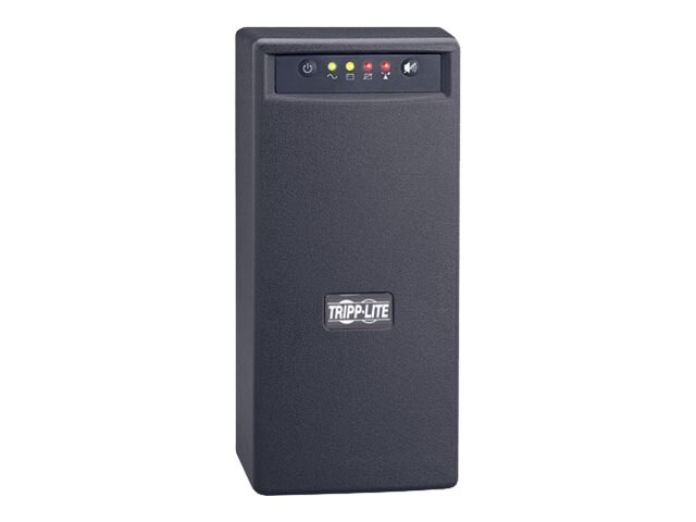 Tripp Lite 800VA Intl UPS Omni Smart VS Tower Line-Interactive 230V (4) Outlet, OMNIVSINT800, 6312929, Battery Backup/UPS