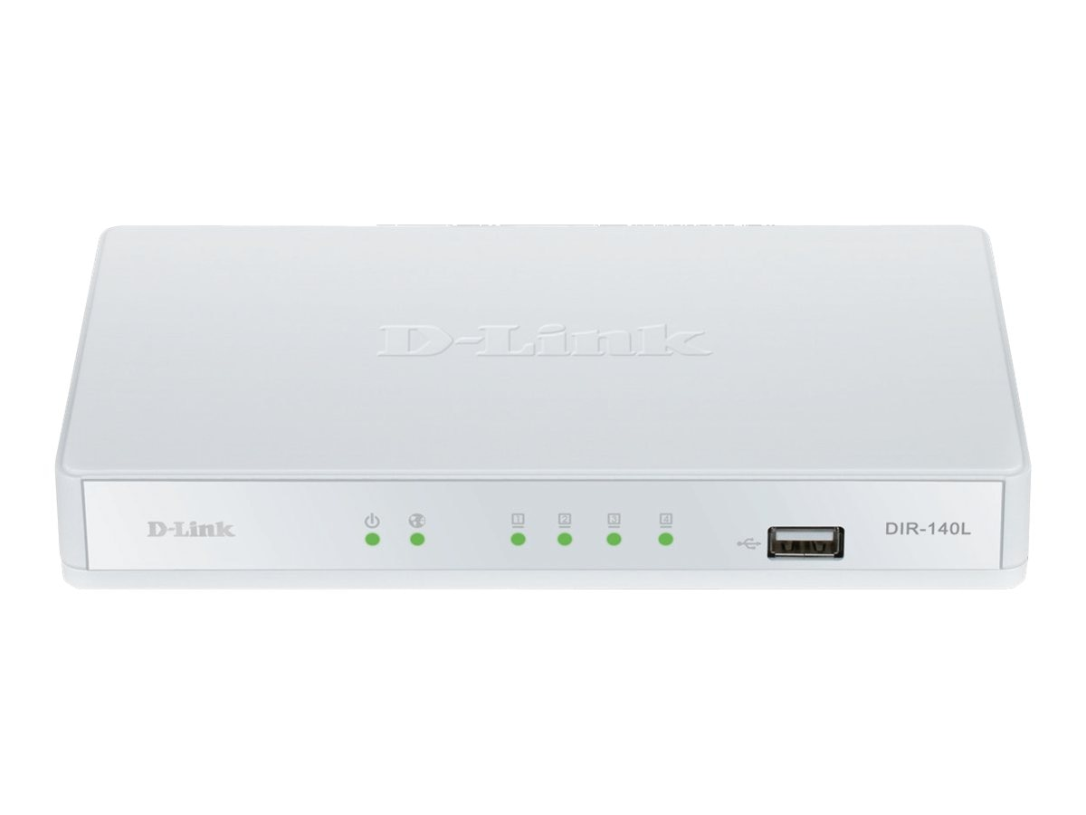 D-Link Broadband Cloud VPN Router, DIR-140L, 14999231, Network Routers