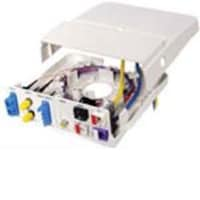 Hubbell Advanced Multimedia Outlet 12-port Office White, AMO, 5614431, Premise Wiring Equipment